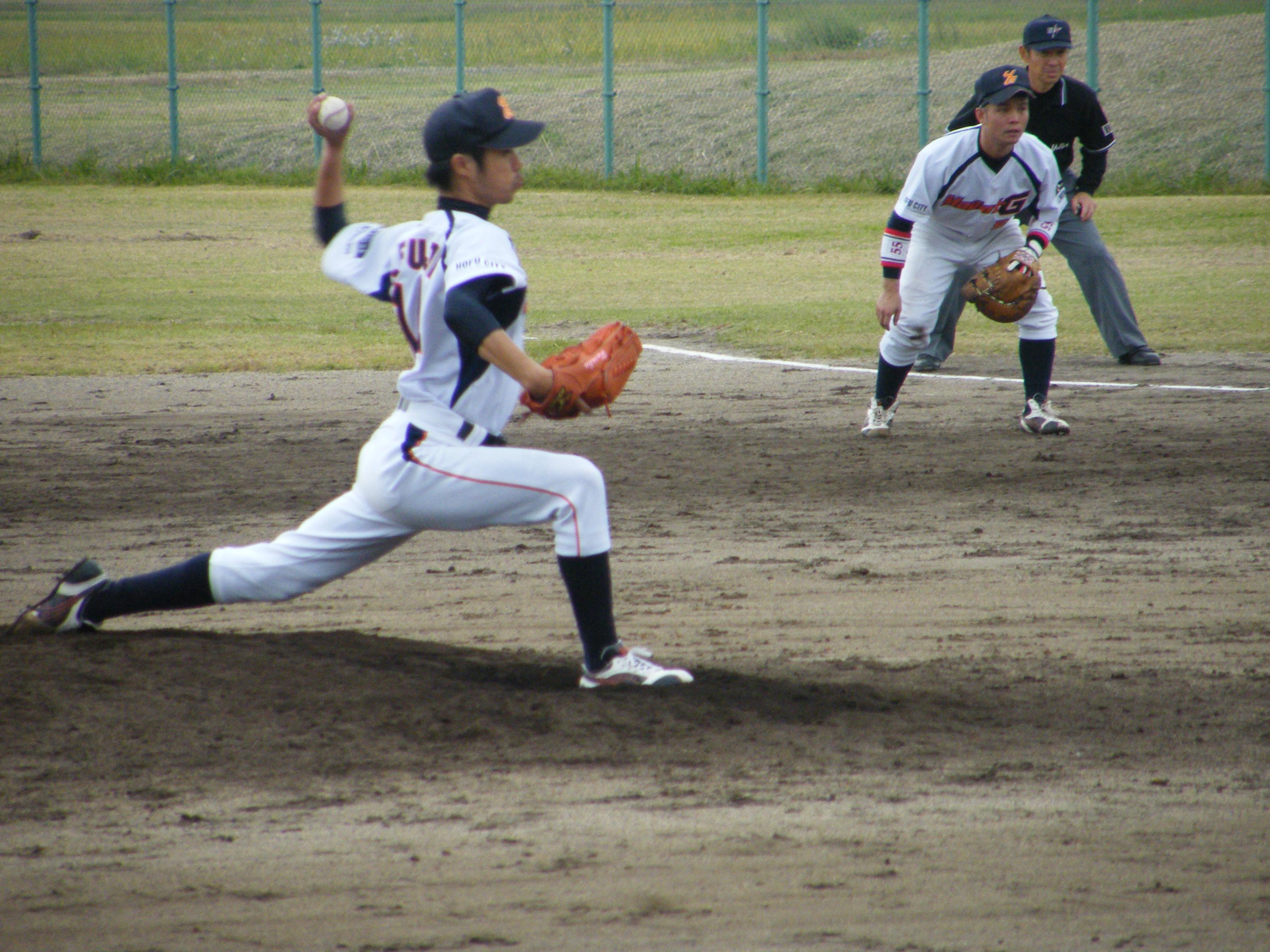 藤井祐投手の投球フォーム