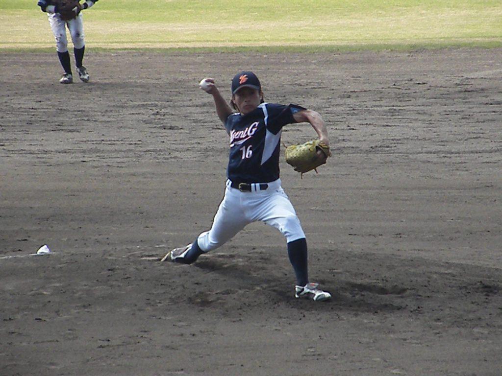 対 広島市・MSH塩見戦に先発した#16 村澤慶彦投手