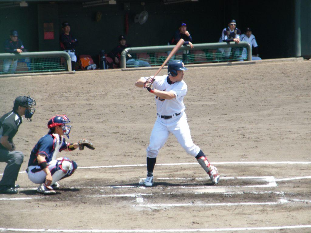 4番山田選手のソロホームランで先取点