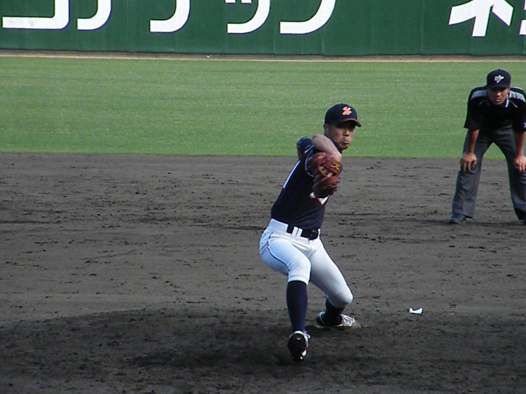 3回を無得点に抑えた藤井投手