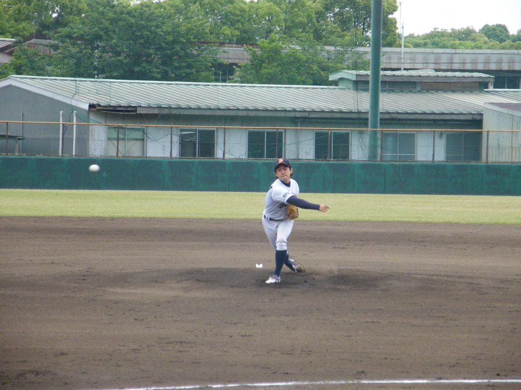 決勝戦でリリーフした田中投手