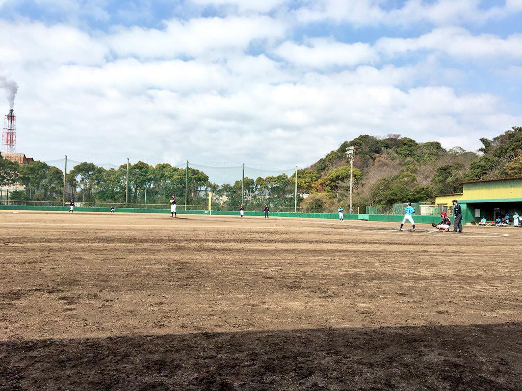 JABA毎日杯争奪山口県野球大会の様子